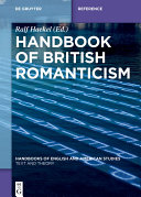 Handbook of British Romanticism