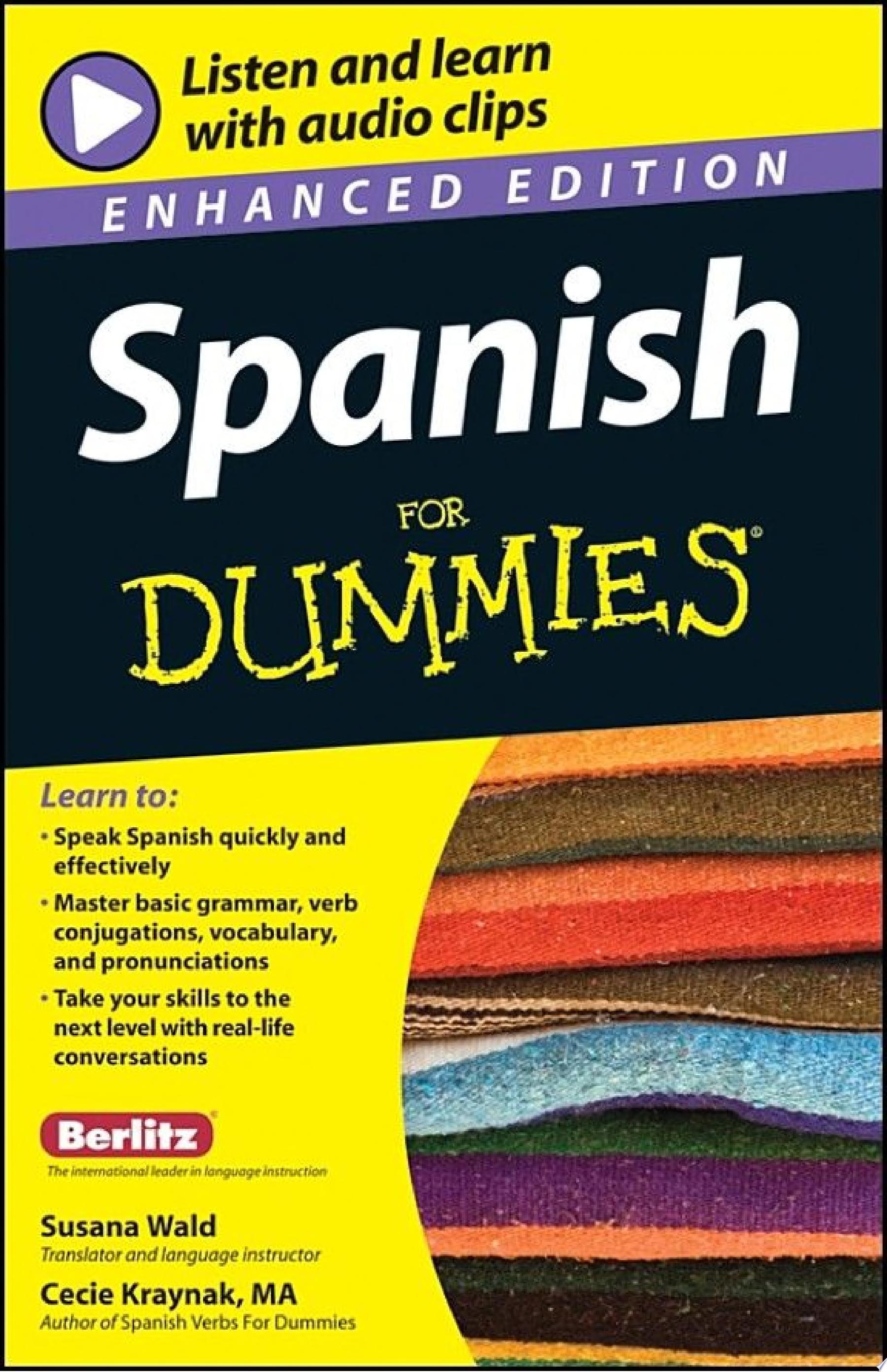 Spanish For Dummies  Enhanced Edition