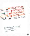 Political Science Research Methods + Working With Political Science Research Methods