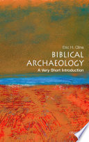 Biblical Archaeology  A Very Short Introduction