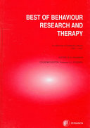 The Best of Behaviour Research and Therapy