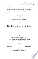 Syllabus of a Course of Six Lectures on the Divine Comedy of Dante