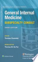Washington Manual   General Internal Medicine Consult Book