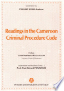 Readings In The Cameroon Criminal Procedure Code