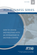 How to choose and negotiate with an intermediary in another country ebook