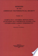 Memoirs of the American Mathematical Society