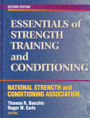 Cover of Essentials of Strength Training and Conditioning
