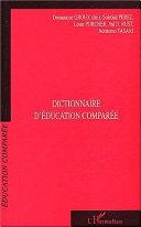 Dictionnaire d'éducation comparée Pdf/ePub eBook