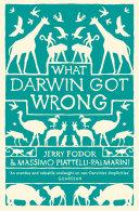 Pdf What Darwin Got Wrong