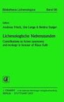 Lichenologische Nebenstunden Book PDF