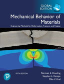 Mechanical Behavior of Materials  Global Edition Book