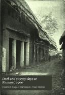 Dark and Stormy Days at Kumassi  1900