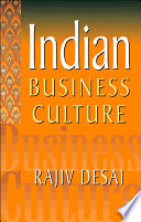 Indian Business Culture Book