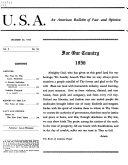 U S A  Book
