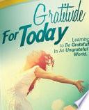 Gratitude For Today Book PDF