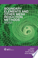 Boundary Elements And Other Mesh Reduction Methods Xxxvi Book PDF