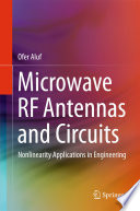 Microwave RF Antennas and Circuits Book