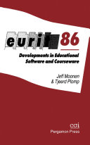 Eurit 86: Developments in Educational Software and Courseware