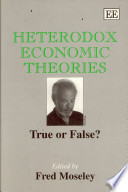 Heterodox Economic Theories