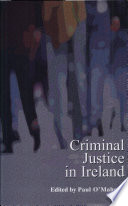 Criminal Justice in Ireland Book