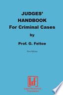 Judges Handbook For Criminal Cases