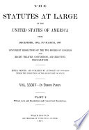 Statutes at Large of the United States of America from ...