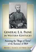 General E A Paine In Western Kentucky