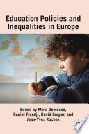 Educational Policies And Inequalities In Europe Book