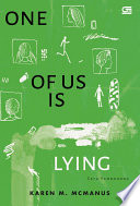 Satu Pembohong  One of Us Is Lying    cover baru