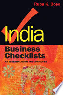 India Business Checklists