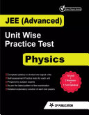 JEE Advanced Physics   Unitwise Practice Test Papers