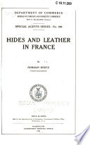 Hides And Leather In France