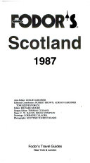 Fodor s Scotland  1987