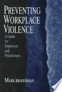 Preventing Workplace Violence Book