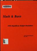 Slash   Burn Book PDF