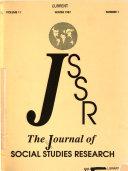 Journal Of Social Studies Research
