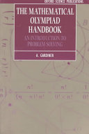 The Mathematical Olympiad Handbook