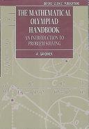 The Mathematical Olympiad Handbook