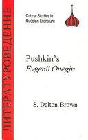 Eugene Onegin Pdf/ePub eBook