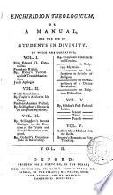 Enchiridion theologicum Book