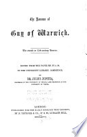 The Romance of Guy of Warwick