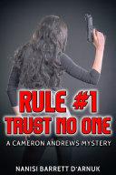 Rule #1: Trust No One Pdf/ePub eBook
