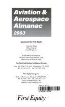The Aviation   Aerospace Almanac 2003
