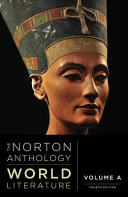 link to Norton Anthology World Literature: vol A in the TCC library catalog