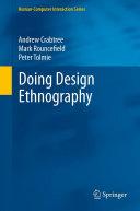 Doing Design Ethnography [Pdf/ePub] eBook