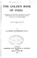 The Golden Book of India