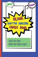 Blank Watch Making Comic Book Book PDF