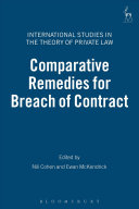 Comparative Remedies for Breach of Contract ebook