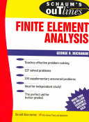 Schaum S Outline Of Finite Element Analysis Book PDF