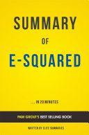 E-Squared: by Pam Grout | Summary and Analysis